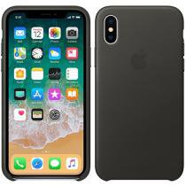 Capa Protetora Couro para iPhone X - Apple MQTF2ZM/A