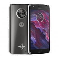 Capa Protetora Cristal Original Muvit Para Motorola Moto X4