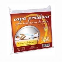 Capa Protetora para Travesseiro de Corpo - Duoflex - Branco - Duoflex
