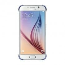 Capa Protetora Samsung Clear Cover EF-QG920B Preta para Galaxy S6 Protege contra Impactos - Samsung