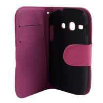 Capa Samsung Galaxy Fame Couro Carteira Rosa - Idea - Idea