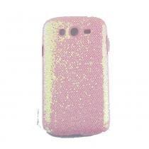 Capa Samsung Galaxy Gran Duos Brilho Rosa - Idea -