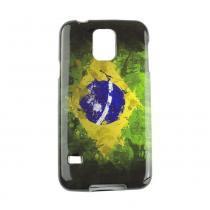 Capa Samsung Galaxy S5 Tpu Bandeira Brasil - Idea