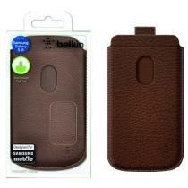 Capa Samsung Galaxy Siii Pocket Couro F8m410ttc01 Belkin -