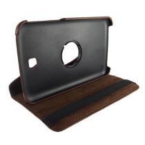 "Capa Samsung Tab 3 7"" Rotate Marrom - Idea -"