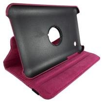 Capa Samsung Tablet P3100 Cartoon Rotation Rosa - Idea - Idea