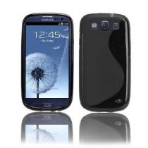 Capa silicone galaxy s3 iii i9300 + pelicula frete grátis br (1517 + 1503) - Samsung