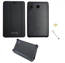 Capa Smart Book Case Galaxy Tab E - 8.0 T375/T377 + Caneta Touch (Preto) - BD Net Imports