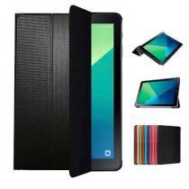 "Capa Smart Cover Para Tablet Samsung Galaxy Tab A 10.1"" SM-P585 / P580 + Película de Vidro - Lka"