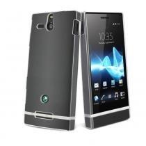 Capa Sony Xperia U Cristal Transparente - Muvit - Muvit