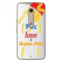 Capa Transparente Personalizada Exclusiva Motorola Moto X Style XT1572 - TP104 - Motorola