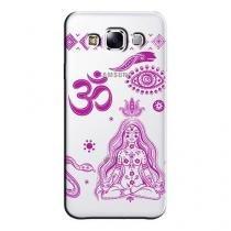 Capa Transparente Personalizada Exclusiva Samsung Galaxy E5 E500 E500H E500HQ E500M - TP65 -
