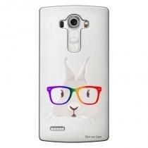 Capa Transparente Personalizada para LG G4 Beat H736P Coelho - TP239 - LG