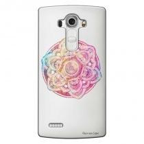Capa Transparente Personalizada para LG G4 Beat H736P Mandala - TP256 - LG