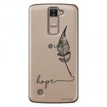 Capa Transparente Personalizada para LG K8 K350 Hope - TP271 - LG