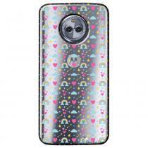 Capa Transparente Personalizada para Motorola Moto X4 XT1900 - Love - TP244 - Motorola