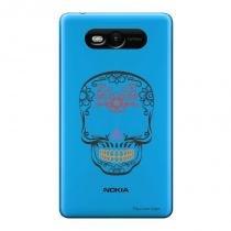 Capa Transparente Personalizada para Nokia Lumia N820 Caveira Mexicana - TP241 - Nokia