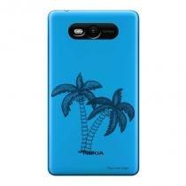 Capa Transparente Personalizada para Nokia Lumia N820 Coqueiro - TP319 - Nokia