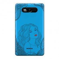 Capa Transparente Personalizada para Nokia Lumia N820 Girl - TP266 - Nokia
