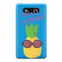 Capa Transparente Personalizada para Nokia Lumia N820 Hello Summer - TP322 - Nokia