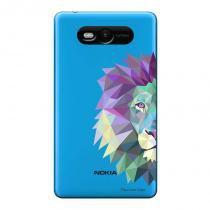 Capa Transparente Personalizada para Nokia Lumia N820 Leão - TP234 - Nokia