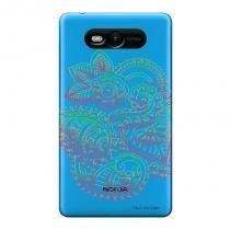Capa Transparente Personalizada para Nokia Lumia N820 Mandala - TP254 - Nokia