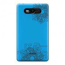 Capa Transparente Personalizada para Nokia Lumia N820 Mandala - TP255 - Nokia