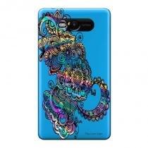 Capa Transparente Personalizada para Nokia Lumia N820 Mandala - TP257 - Nokia