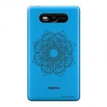 Capa Transparente Personalizada para Nokia Lumia N820 Mandala - TP260 - Nokia