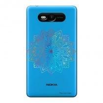 Capa Transparente Personalizada para Nokia Lumia N820 Mandala - TP262 - Nokia