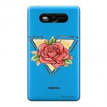 Capa Transparente Personalizada para Nokia Lumia N820 Mandala - TP305 - Nokia