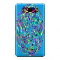 Capa Transparente Personalizada para Nokia Lumia N820 Psicodélicas - TP274 - Nokia