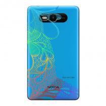 Capa Transparente Personalizada para Nokia Lumia N820 Renda - TP293 - Nokia