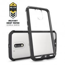 Capa Ultra Slim Air Preta para Motorola Moto G4 e G4 Plus - Gorila Shield -