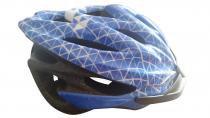 Capacete adulto para ciclismo com viseira ptk - Azul - Ptk