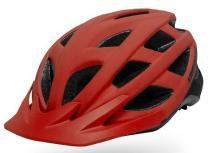 Capacete asw bike fun vermelho 18 -