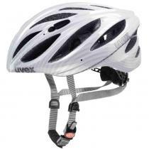 Capacete Boss Race Uvex - Branco / Carbon - M - L - Uvex