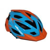 Capacete ciclismo elleven com 3 funções de led Tam. 56-60 com regulagem - Elleven