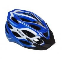 Capacete Ciclismo MTB INM 27A-1 AZL/BCO/PTO HIGH ONE -