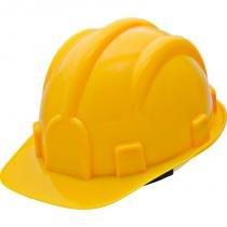 Capacete de segurança com carneira amarela prosafety inmetro - Pro safety