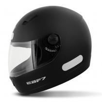 Capacete Fechado EBF ROX ER Preto Fosco - Ebf capacetes