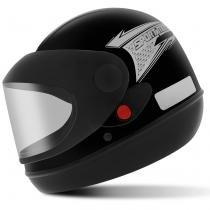 Capacete Fechado Pro Tork Sport Moto Preto - Tamanho 56 - Pro Tork