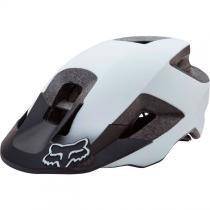 Capacete Fox Ranger 17 Branco/Preto (Fosco) -
