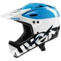 Capacete Helmet 9 Bike Azula, Branco e Preto M Uvex - Azul / Branco / Preto - M - Uvex