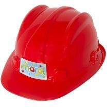 Capacete Infantil de Construção Vermelho 2020 - Maral - Maral
