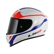 CAPACETE LS2 FF323 ARROW R BURNER WHITE/RED/BLUE - 61/62 - XL - LS2