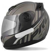 Capacete Moto Pro Tork Evolution G6 Pro 788 Preto Cinza - Pro Tork