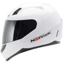 CAPACETE NORISK FF391 MONO GLOSS WHITE - 61/62 - XL - NORISK