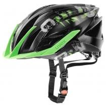 Capacete Ultra SNC Uvex - Preto / Verde - G - Uvex