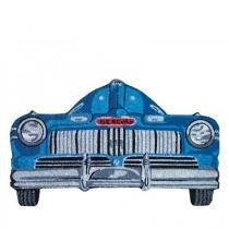 Capacho Carro Antigo Azul - Azul - Único - Gorila Clube